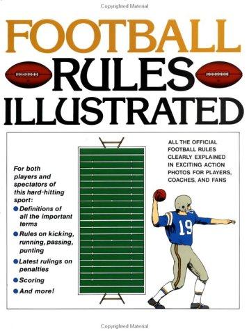 Football Rules Illustrated 9780671612955
