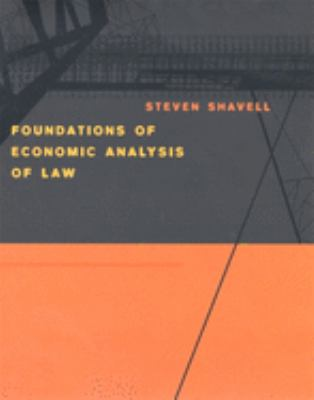 Foundations of Economic Analysis of Law 9780674011557