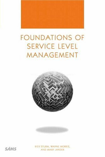 Foundations of Service Level Management 9780672317439
