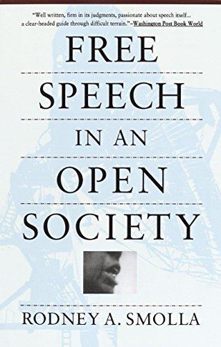 Free Speech in an Open Society 9780679742135