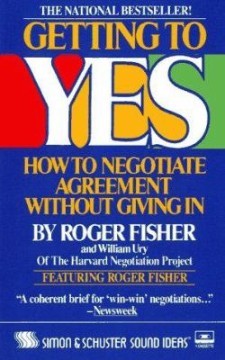 Getting to Yes Cassette: How to Negotiate Agreement Without Giving in 9780671634063