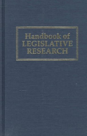Handbook of Legislative Research 9780674370753