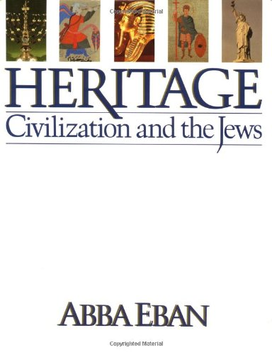 Heritage: Civilization and the Jews 9780671441036