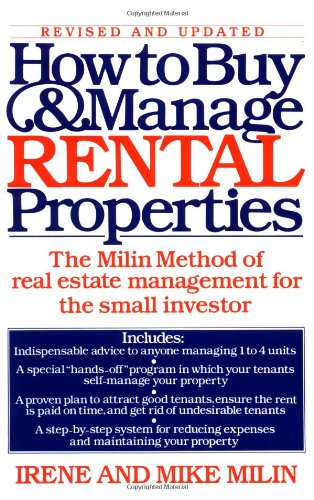 How to Buy and Manage Rental Properties 9780671644239