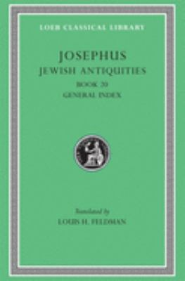 Jewish Antiquities, Volume IX: Book 20 9780674995024