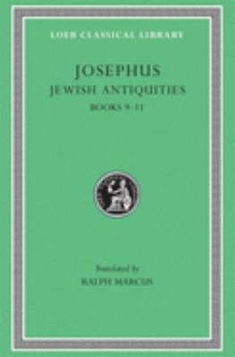 Jewish Antiquities, Volume IV: Books 9-11 9780674993600