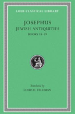 Jewish Antiquities, Volume VIII: Books 18-19