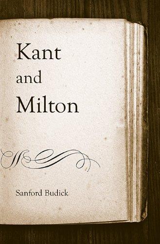 Kant and Milton 9780674050051