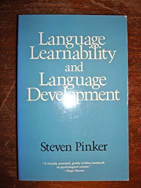 Language Learnability and Language Development: ,