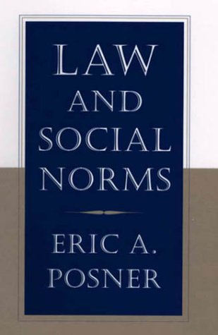 Law and Social Norms 9780674001565