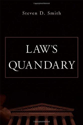 Law's Quandary 9780674015333