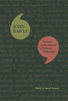Lectures on the History of Political Philosophy 9780674030633
