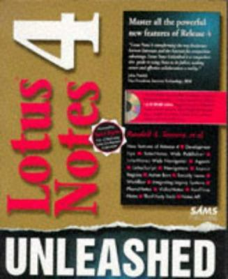 Lotus Notes 4 Unleashed, with CD-ROM 9780672309069