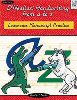 Lowercase Manuscript Practice 9780673589071