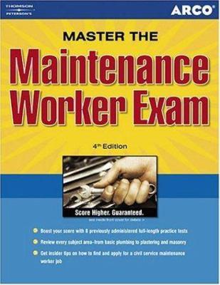 Maintenance Workers Exam, 4th Ed 9780671879419