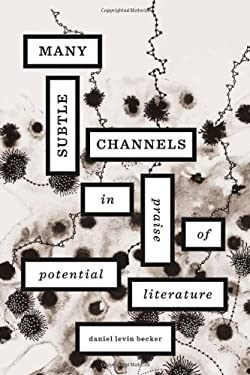 Many Subtle Channels: In Praise of Potential Literature 9780674065772