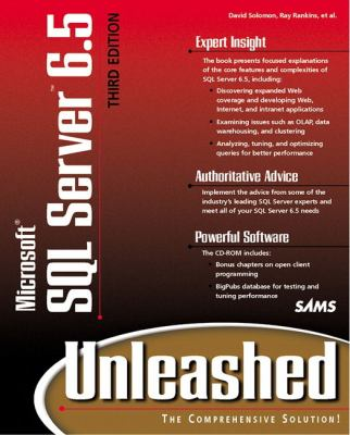 Microsoft SQL Server 6.5 Unleashed [With Includes Bigpubs Database, Bonus Chapters...] 9780672311901