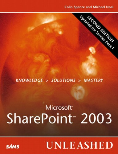Microsoft Sharepoint 2003 Unleashed 9780672328039