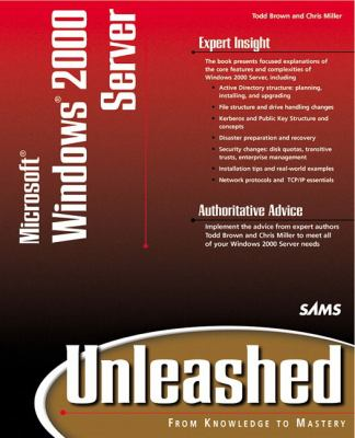 Microsoft Windows 2000 Server Unleashed 9780672317392