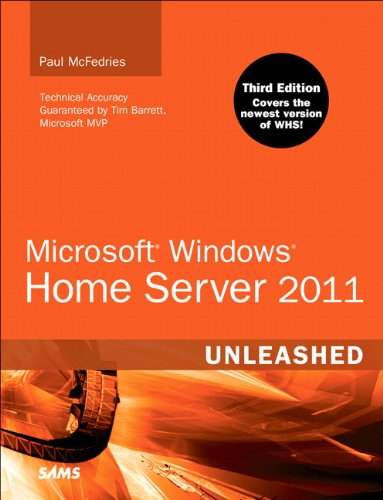 Microsoft Windows Home Server 2011 Unleashed 9780672335402