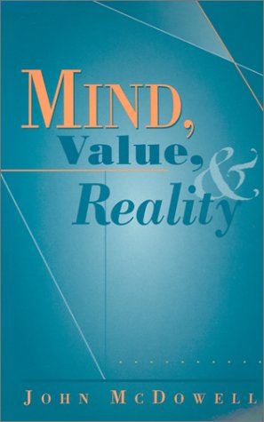 Mind, Value, and Reality 9780674007130