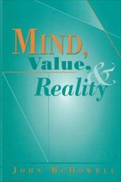 Mind, Value, and Reality: ,