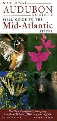 National Audubon Society Guide to the Mid-Atlantic Stat Es 9780679446828