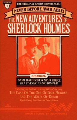 New Adv Sherlock Holmes #7: Case of Out of Date Murder & Waltz of Death 9780671687731