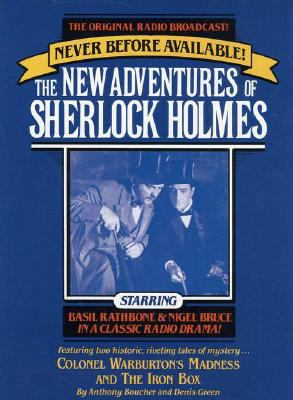 New Adv Sherlock Holmes #8: Colonel Warburton's Madness and the Iron Box 9780671687748
