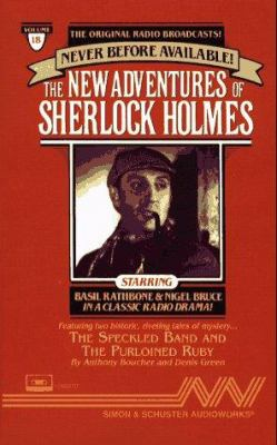 New Adventures of Sherlock Holmes Vol#18: Adven Speckld Band/Purloined Ruby Cst 9780671793814