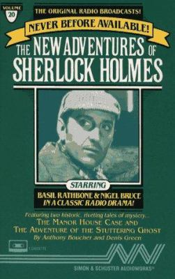 New Adventures of Sherlock Holmes Vol#20: Manor House Case & Stuttering Ghost 9780671794118