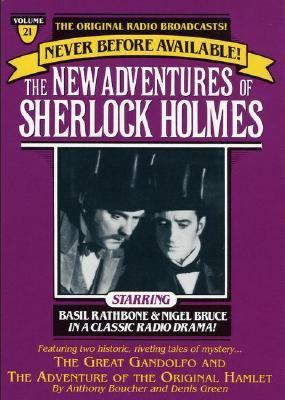 New Adventures of Sherlock Holmes Vol#21: Great Gandolfo & Original Hamlet 9780671794125