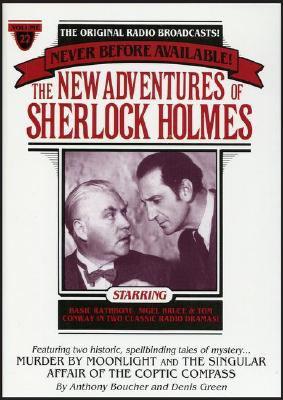 New Adventures of Sherlock Holmes Vol#22: Murder by Moonlight & Coptic Compass 9780671794132