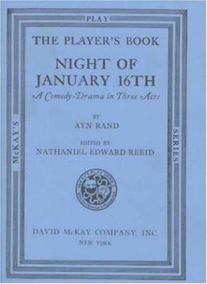 Night of January Sixteenth: A Play Book