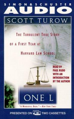 One L: The Turbulent True Story of a First Year at Harvard Law School 9780671579654