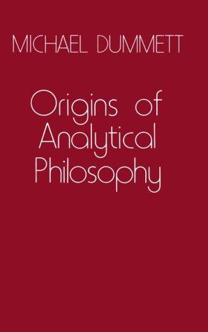 Origins of Analytical Philosophy: , 9780674644724