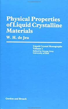 Physical Properties of Liquid Crystalline Materials 9780677040400
