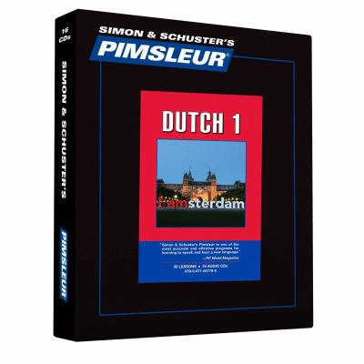 Pimsleur Dutch 9780671047795