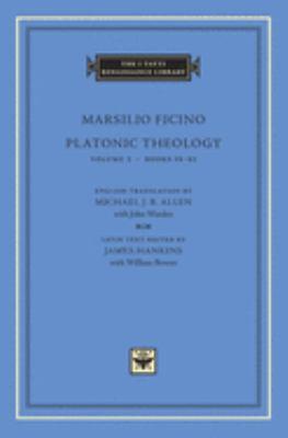 Platonic Theology: Volume 3 Books IX-XI 9780674010659