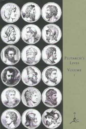 Plutarch's Lives, Volume 1 9780679600084