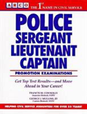 Police Sargeant/Lieutenant/Captain 9780671846862