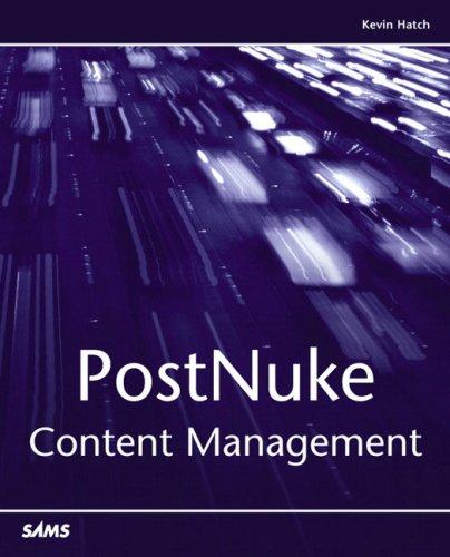 Postnuke Content Management 9780672326868