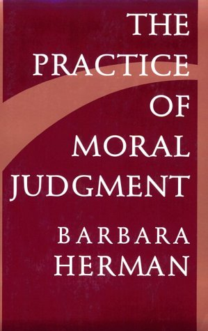 The Practice of Moral Judgment 9780674697188