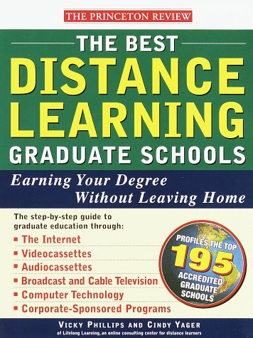 Princeton Review Best Distance Learning Graduate Schools 9780679769309