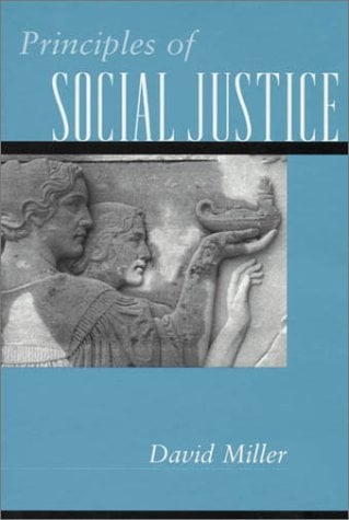 Principles of Social Justice 9780674007147