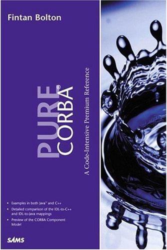 Pure CORBA 3 9780672318122