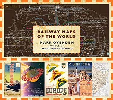Railway Maps of the World 9780670022656