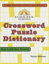 Random House Webster's Crossword Puzzle Dictionary: Third Edition 2482150
