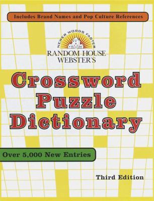 Random House Webster's Crossword Puzzle Dictionary: Third Edition 9780679458562