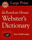 Random House Webster's Dictionary 9780679458104